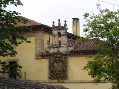 Detalle del Palacio San Andrés de Cornellana