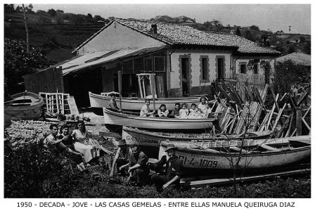 Las casas gemelas (década de 1950)