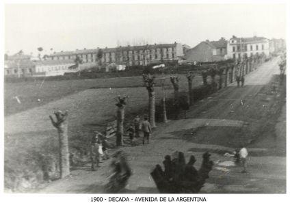 Avenida de la Argentina (década de 1900)