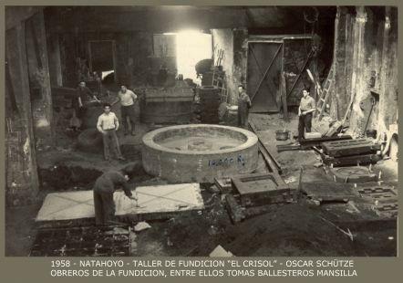 Taller de fundición El Crisol (1958)