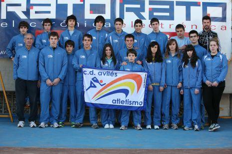 Rato Atletismo cadete juvenil y senior