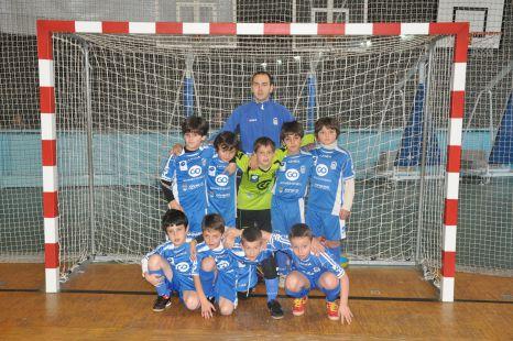 Centro Asturiano Oviedo 3ª benjamín E