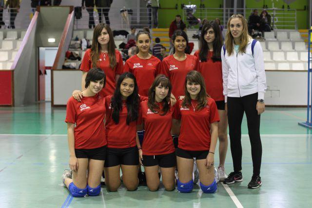 IES Calderón cadete femenino
