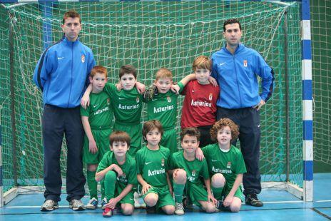 Real Oviedo 2ª benjamín B