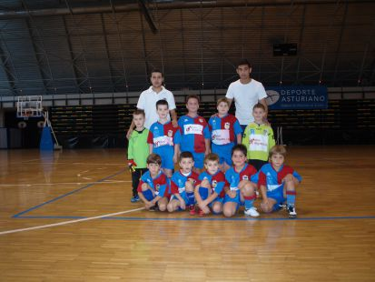 UP Langreo prebenjamín B