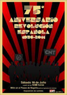 75 aniversario revolucion española