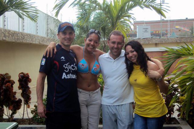Marcos e Iv�n, dos sportinguistas en Venezuela