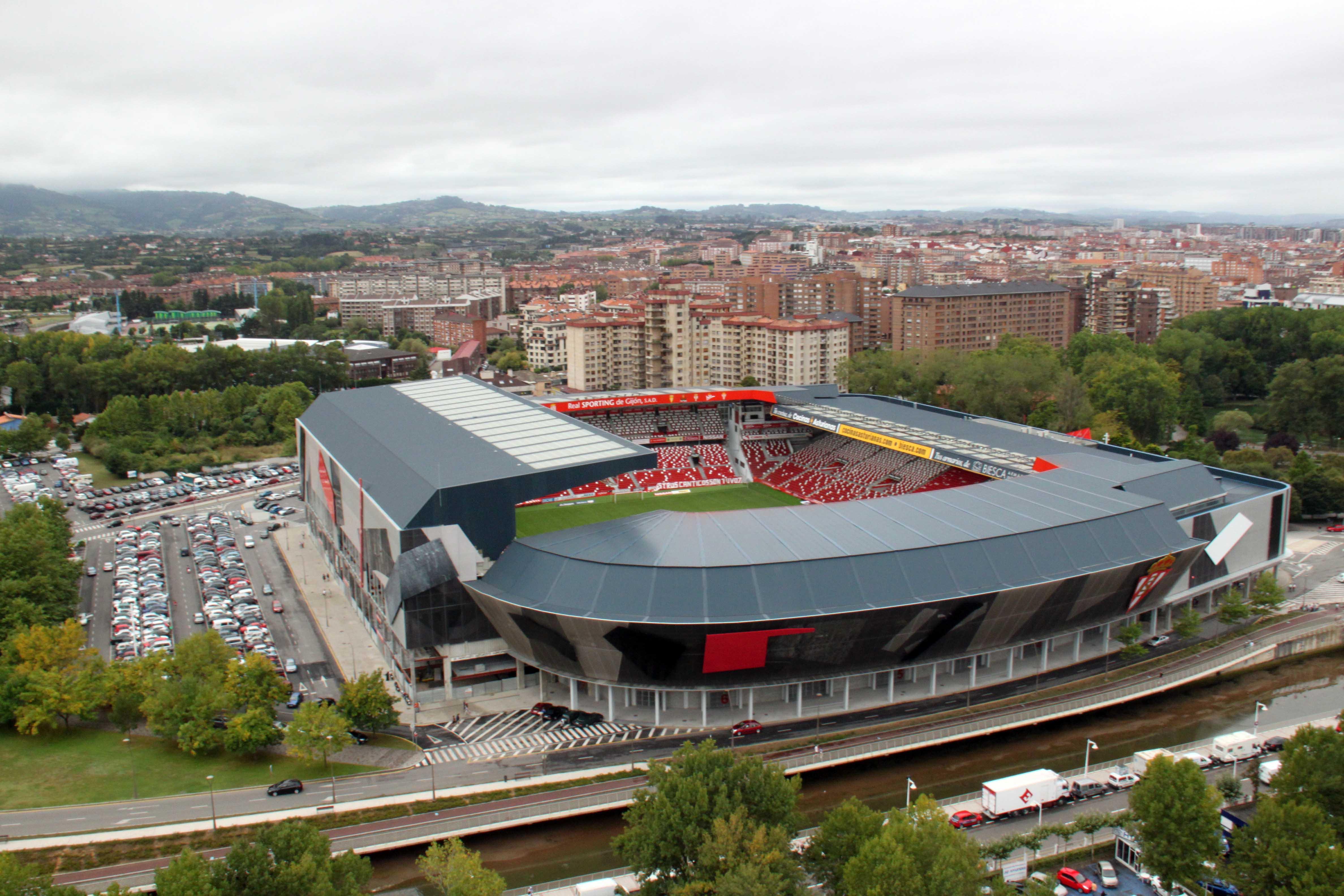 Estadio del molinon fotos de la guia - Estadio del sporting de gijon ...