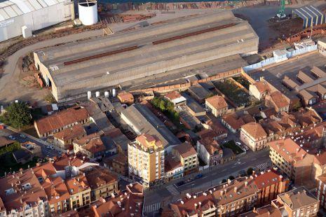 Desaparecidas naves de Naval Gijón