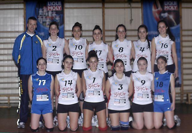 plantilla Liqui Moly Club Voleibol La Calzada