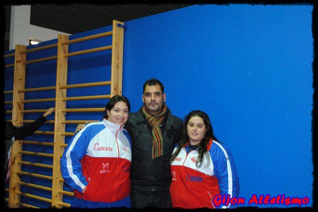 Capitanas y delegao Gijon Atletismo