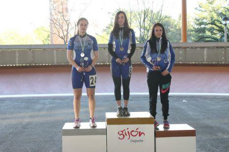 Campeonato de Asturias  1000m. en linea pista