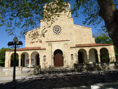 Iglesia parriquial de Somió