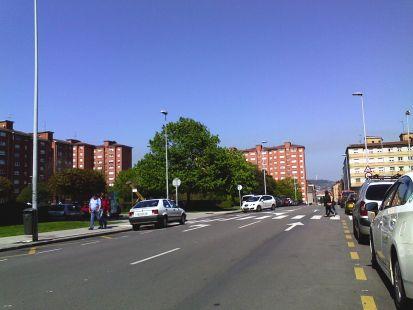 calle amplia