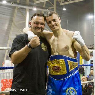 Aitor (El Diamante) Nieto Campeón del Mundo Latino WBF