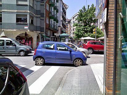 formas extrañas de aparcar