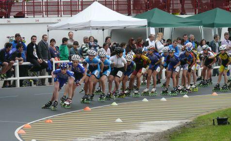 Junior femenino 15.000 eliminación