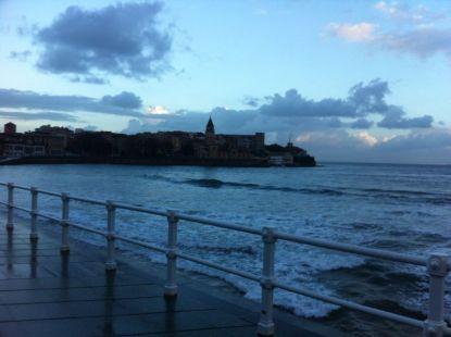 Amanece en San Lorenzo (Gijón)